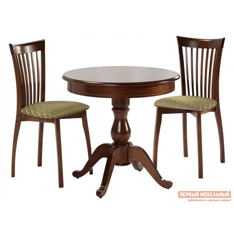 Кухонный стол  Стол Фабрицио 1 (82 * 82 / 112) Орех темный (фото 8)