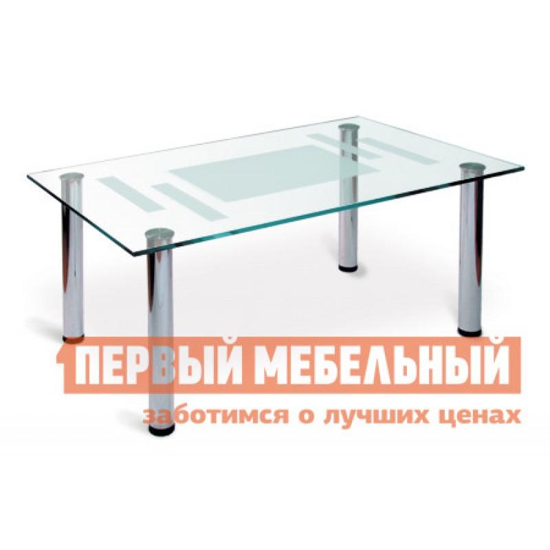 Журнальный столик  Робер-10М  Хром