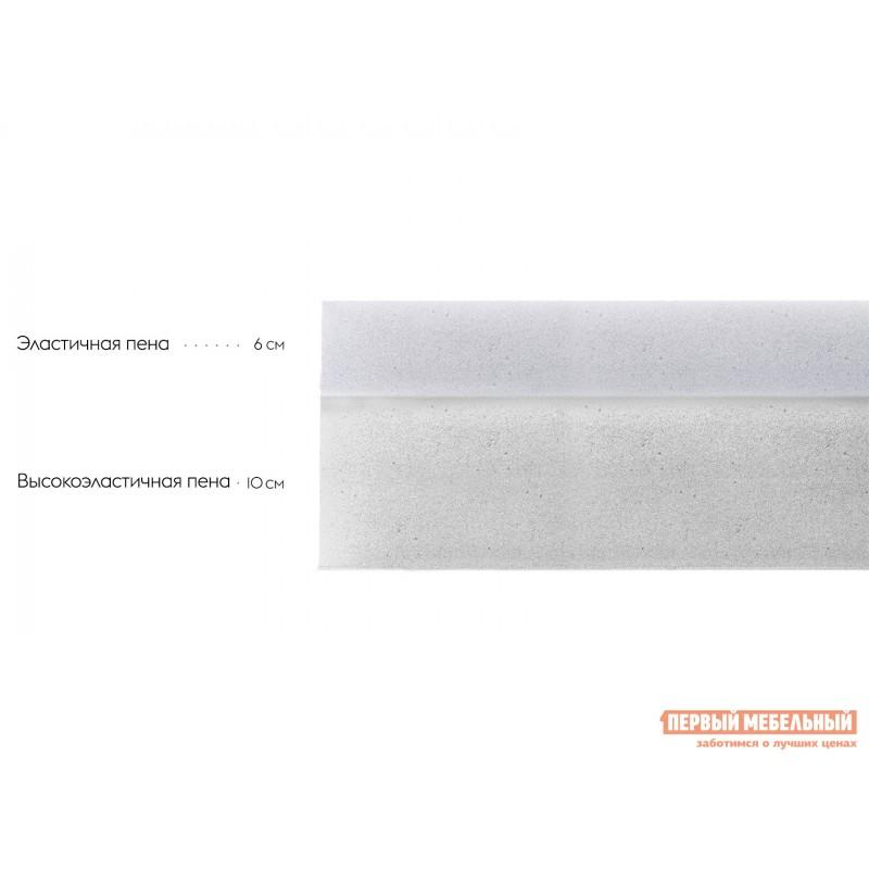 Беспружинный матрас  Анатомика А 500 90х190, Белый (фото 2)