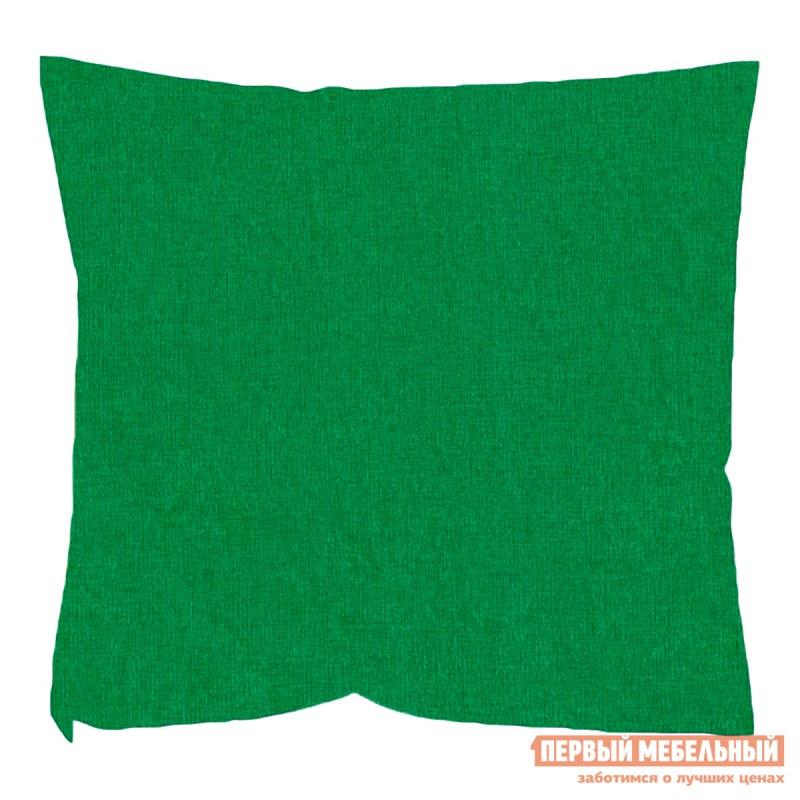 Декоративная подушка  Зеленый Микровельвет Зеленый микровельвет