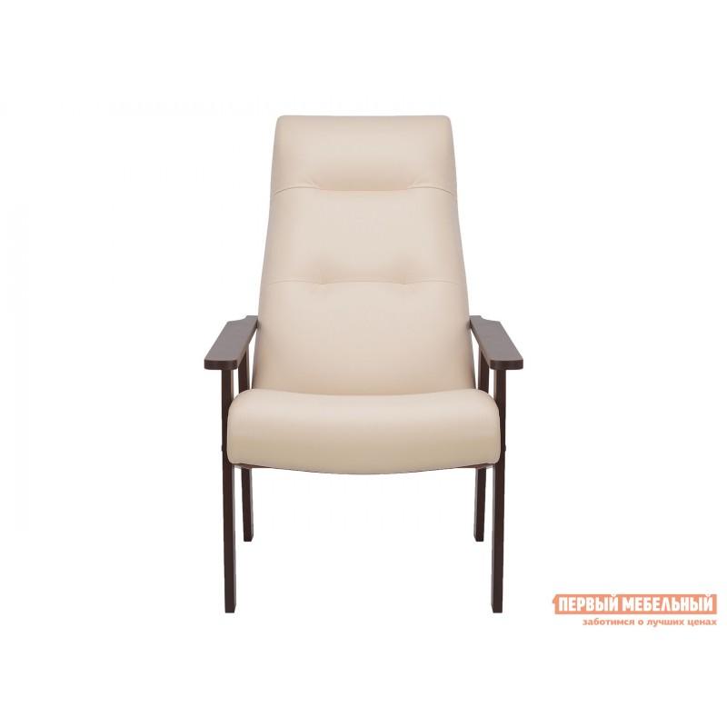 Кресло  Кресло Leset Retro Орех, Polaris beige, иск. кожа (фото 2)