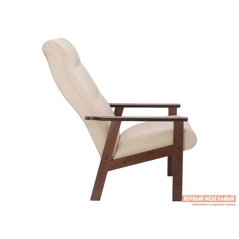 Кресло  Кресло Leset Retro Орех, Polaris beige, иск. кожа (фото 3)