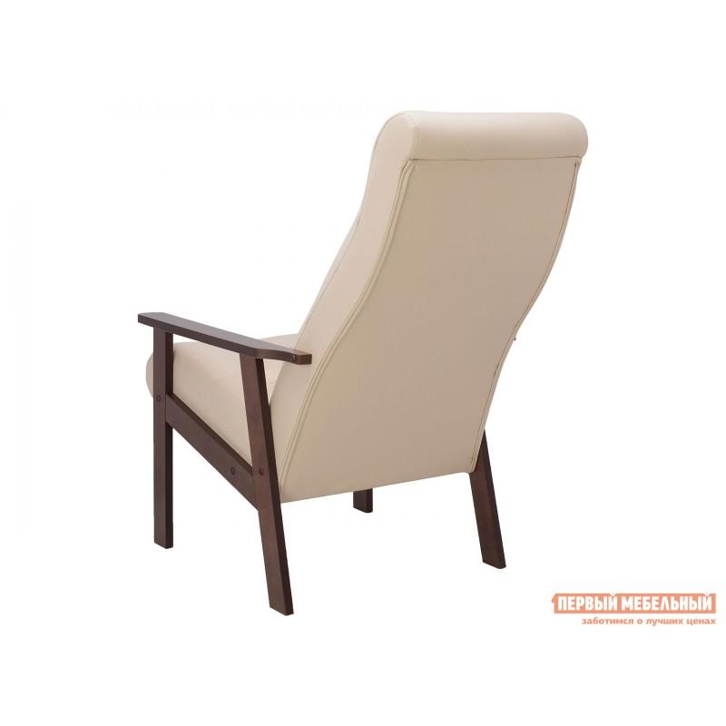 Кресло  Кресло Leset Retro Орех, Polaris beige, иск. кожа (фото 4)
