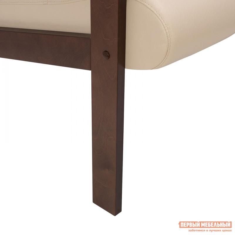 Кресло  Кресло Leset Retro Орех, Polaris beige, иск. кожа (фото 7)