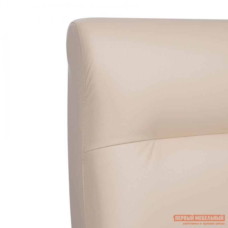Кресло  Кресло Leset Retro Орех, Polaris beige, иск. кожа (фото 8)