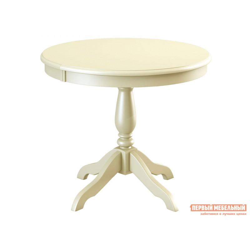 Кухонный стол  Стол Медведь Д 850 Слоновая кость (Эмаль)