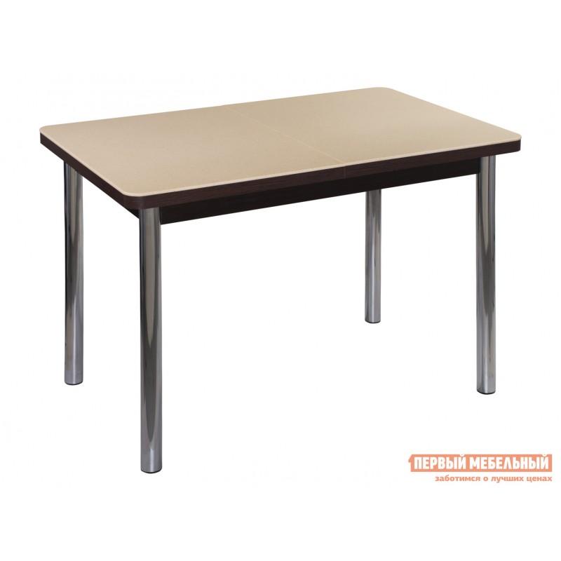 Кухонный стол  Обеденный стол Румба ПР КМ Бежевый 06 / Венге ВН, Средний