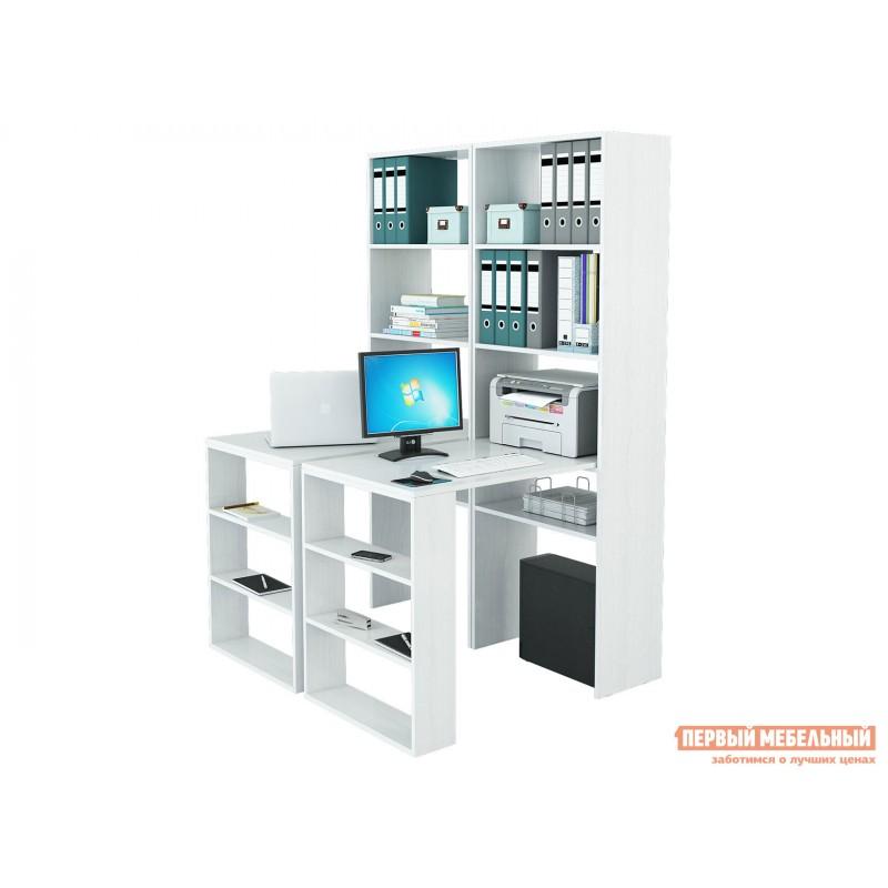 Компьютерный стол  Рикс Белый