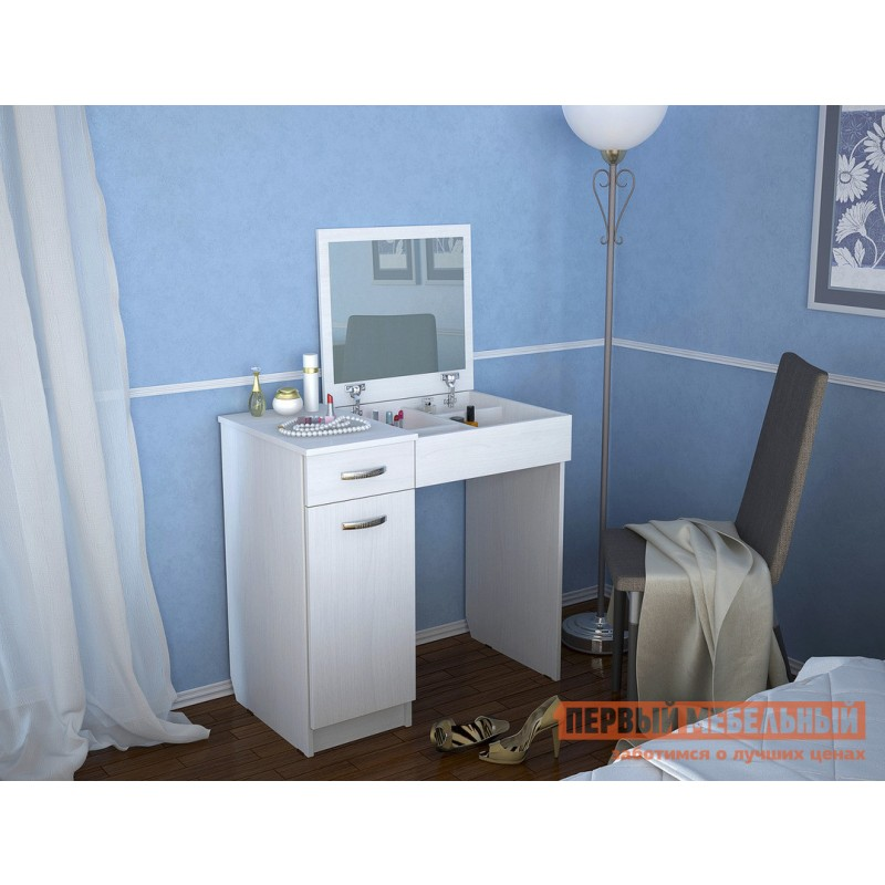 Туалетный столик  Риано-3 Белый (фото 2)