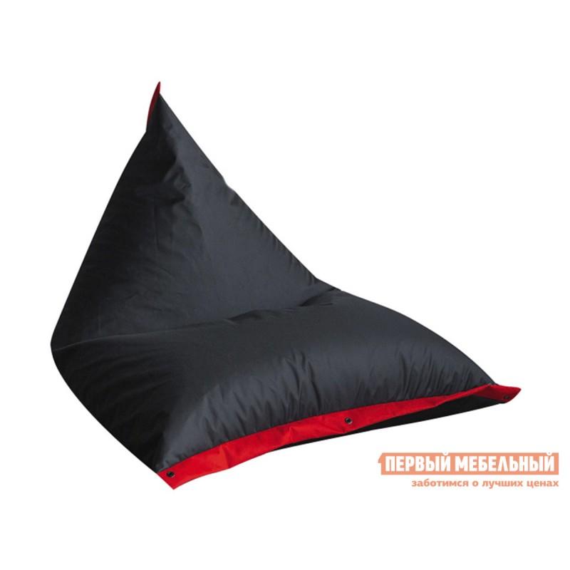 Кресло-мешок  Кресло-мешок Пирамида К Черный / Красный (Оксфорд 210D)