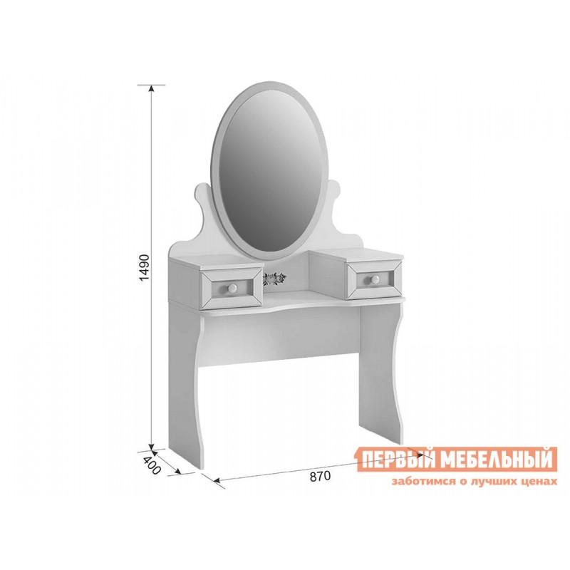 Столик и стульчик  Алиса (Трюмо) МКА-011 Белый / Крем (фото 6)