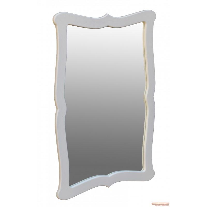Настенное зеркало  Берже 23 Белый ясень