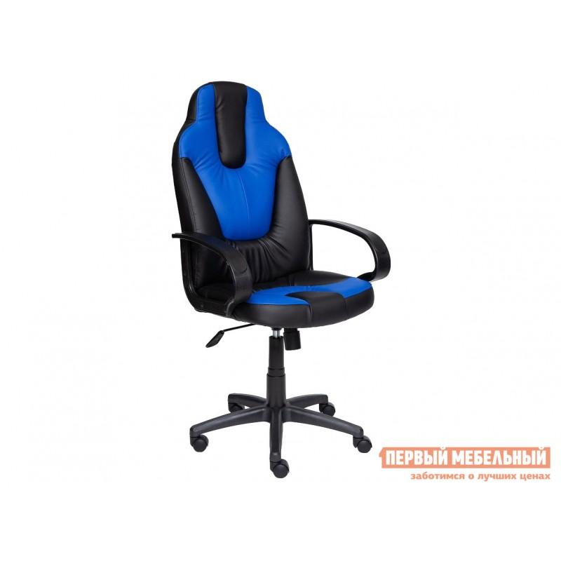 Игровое кресло  NEO (1) Иск. кожа черная / синяя