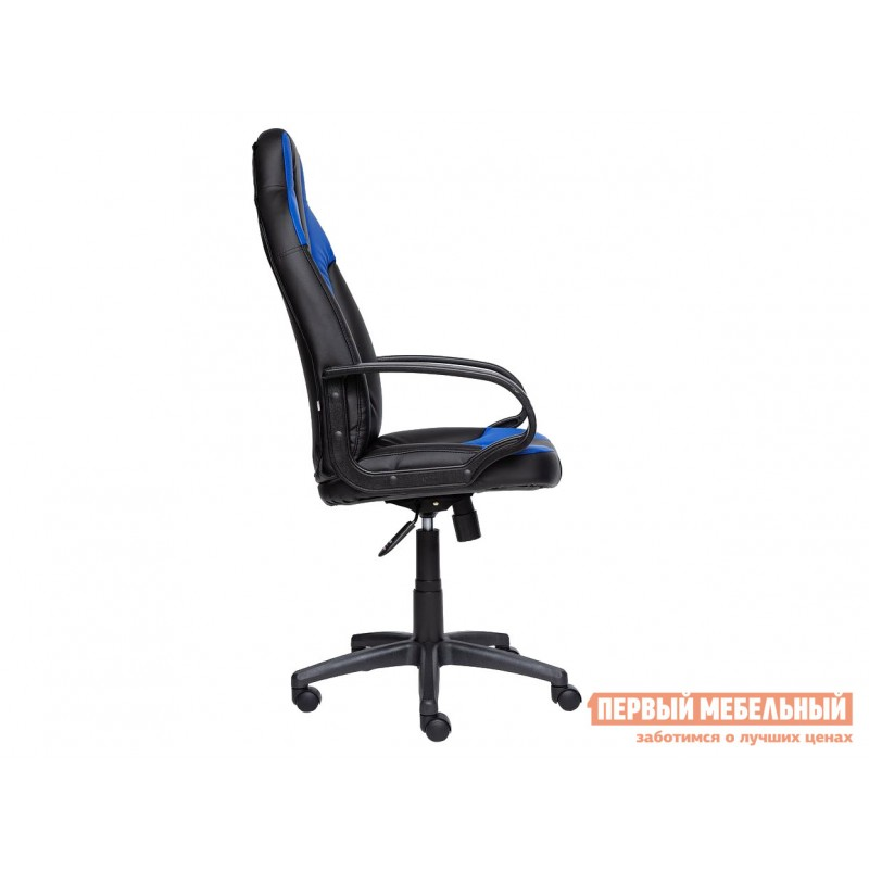 Игровое кресло  NEO (1) Иск. кожа черная / синяя (фото 3)