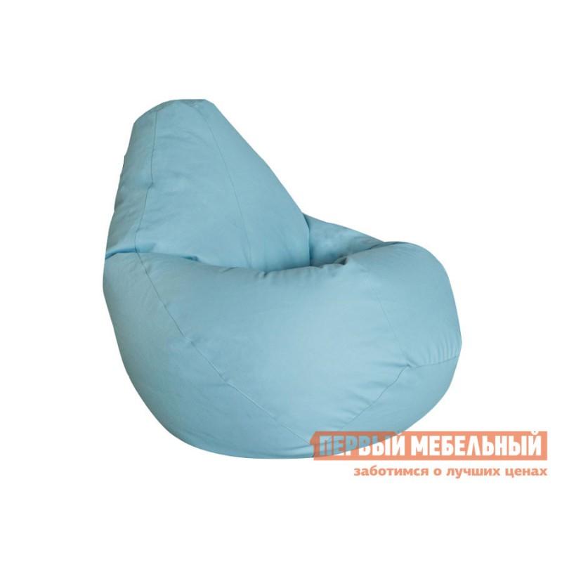 Кресло-мешок  Кресло-мешок Ашли Голубая экокожа, XL