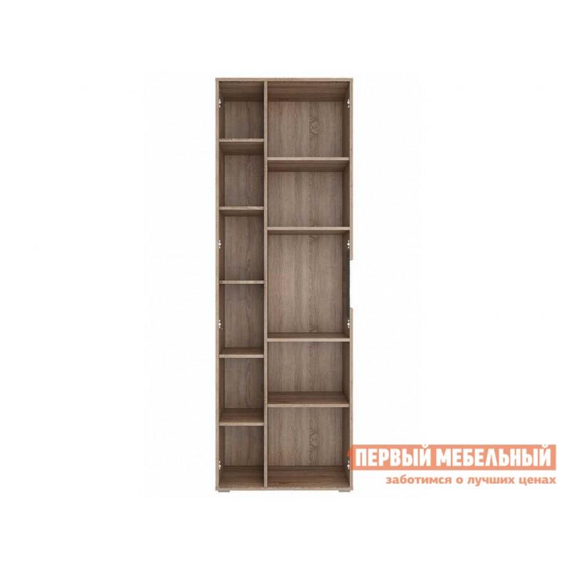 Распашной шкаф  Шкаф-витрина Мишель Дуб Сонома трюфель / Латте (фото 2)
