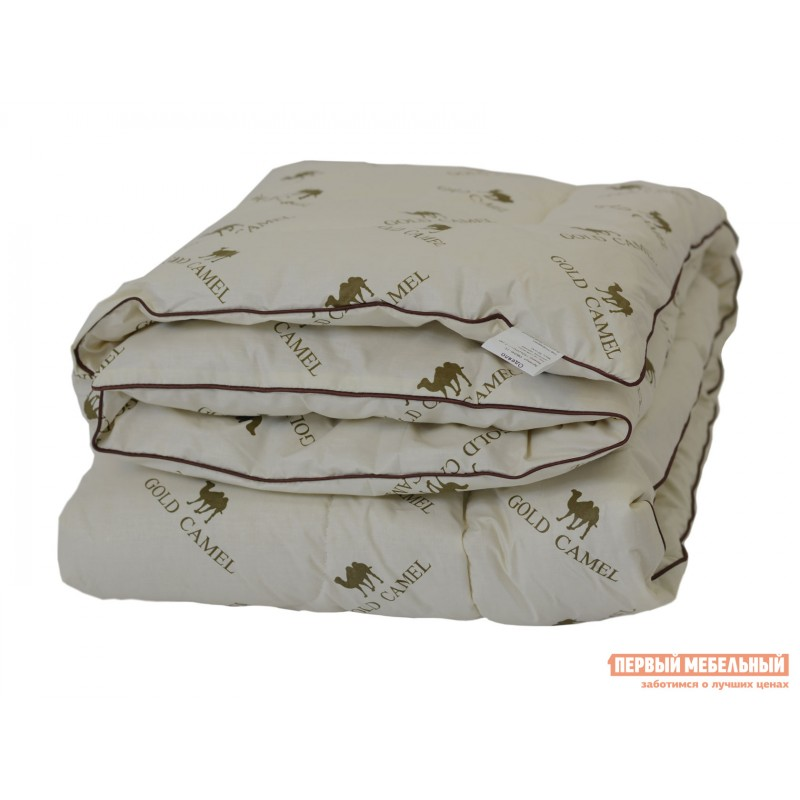 Одеяло  Одеяло тик/верблюжья шерсть 300 г/м2 всесезонное Белый, 1400 х 2050 мм (фото 5)