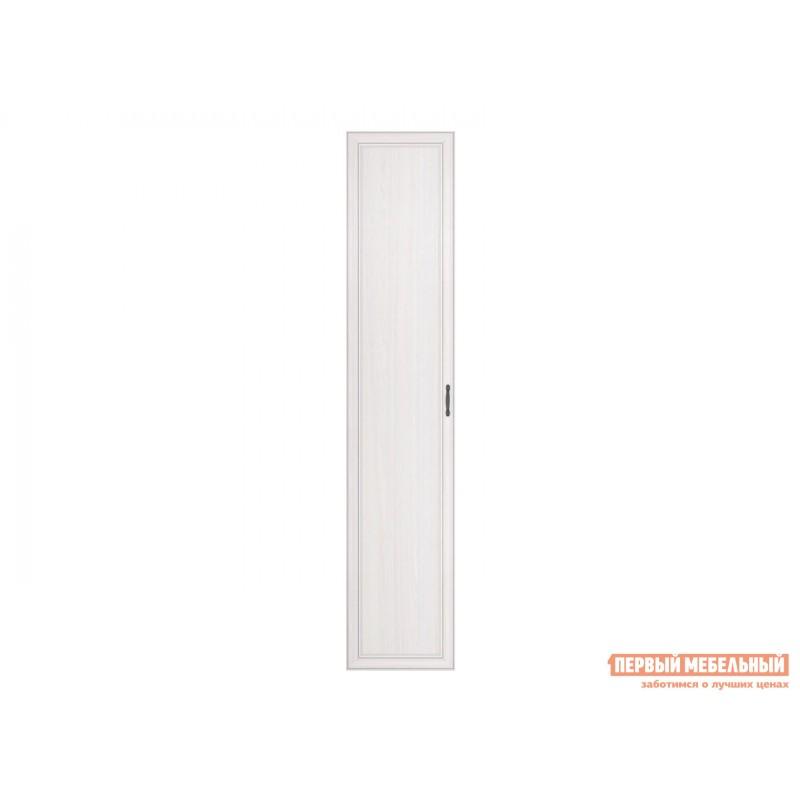 Распашной шкаф  Шкаф 2-х дверный Неаполь Ясень Анкор светлый / Патина серебро, Без зеркала (фото 5)