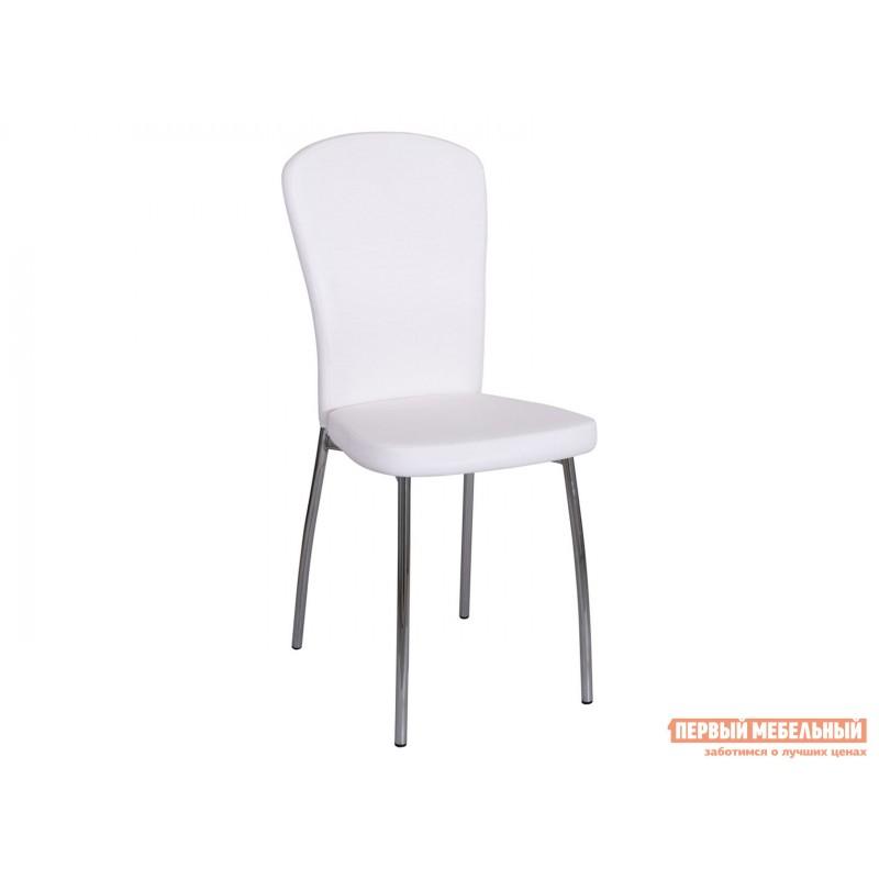 Стул  Обеденный стул Палермо А0/А0 Белый с эффектом замши, экокожа