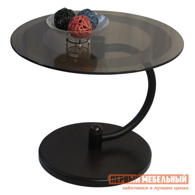 Журнальный столик  Дуэт-13Н Венге / Тонированное стекло