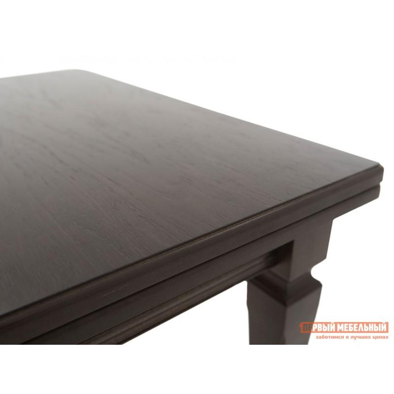 Кухонный стол  Стол раздвижной Греция Темный орех, Малый (фото 5)