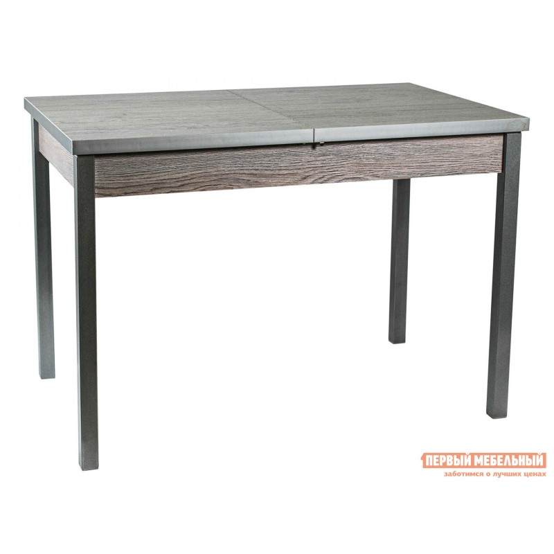 Обеденная группа для столовой и гостиной  Стол Денвер + 4 Стула Спайдер Навара ЛДСП / Канди олива, велюр / Металлик (фото 2)