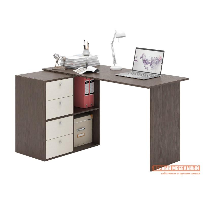 Письменный стол  Прайм-67 Венге / Дуб молочный (фото 2)