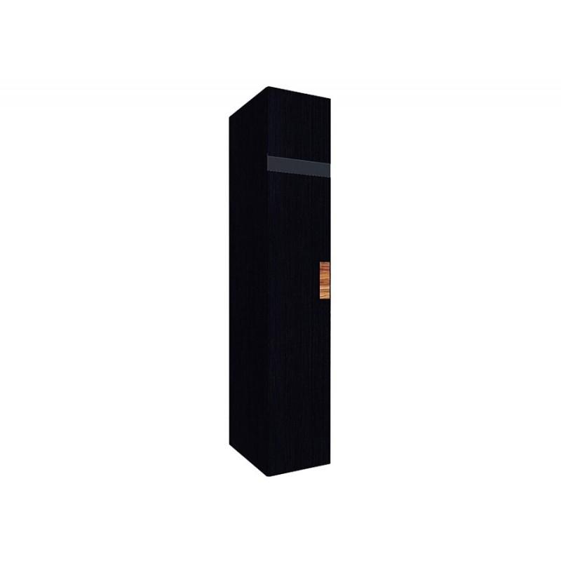 Распашной шкаф  Hyper Шкаф для белья 2 Венге, Левый