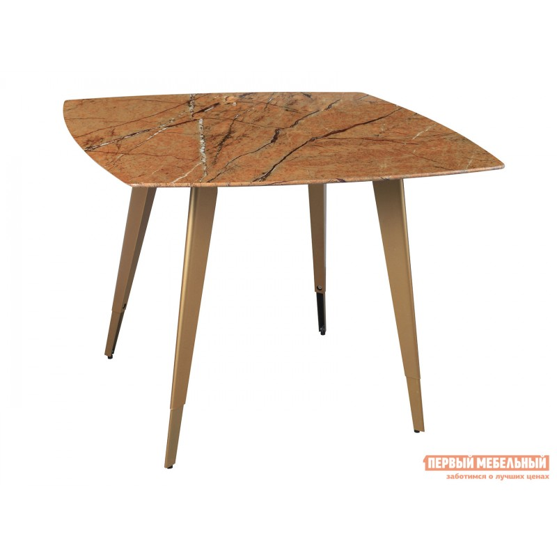 Кухонный стол  Стол обеденный Ричмонд DT-983-G/W-100 Охра, стекло