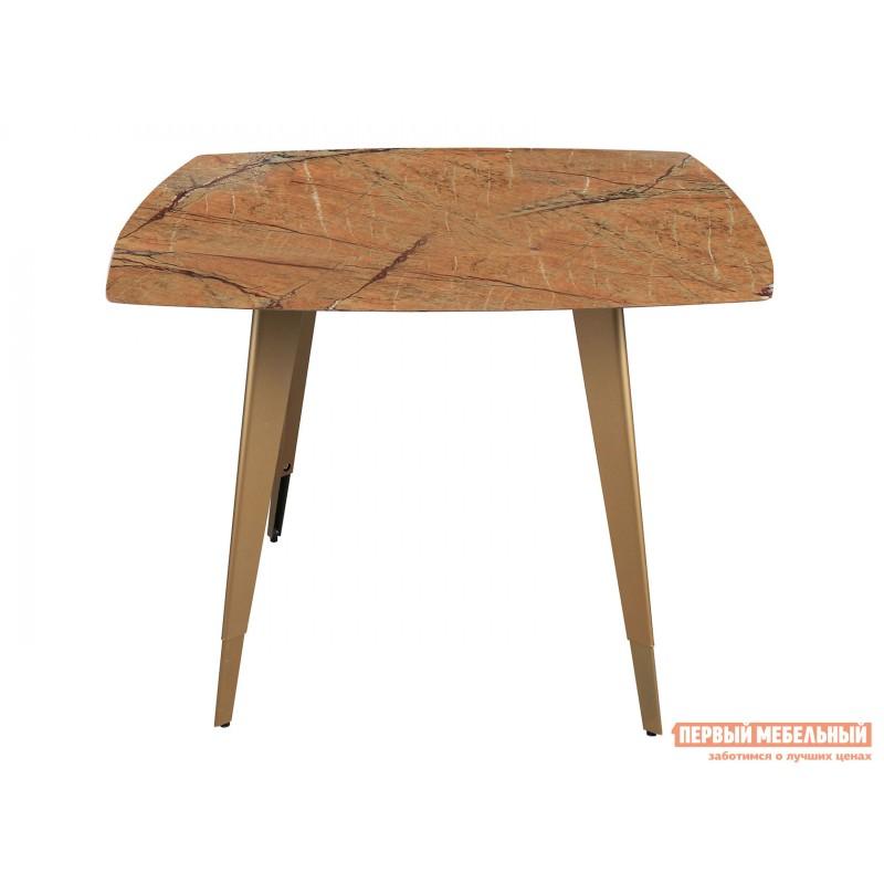 Кухонный стол  Стол обеденный Ричмонд DT-983-G/W-100 Охра, стекло (фото 2)