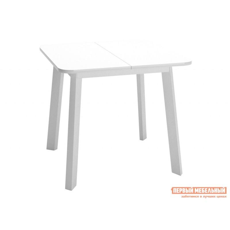 Кухонный стол  Dikline UNIS 14 Белый, стекло / Белый