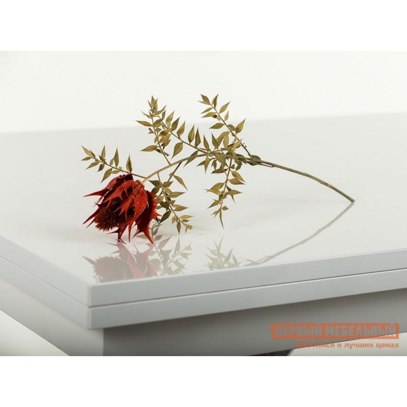 Кухонный стол  Slide GL Белый глянец (фото 4)