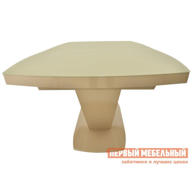 Кухонный стол  Фоджа Капучино / Стекло Opti матте, Малый (фото 3)