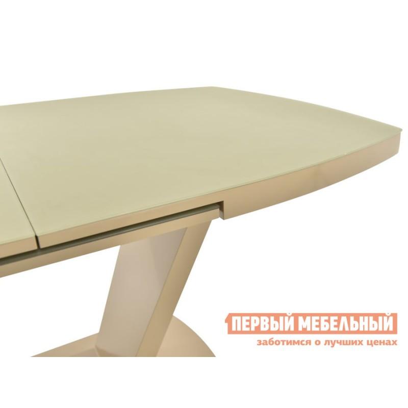 Кухонный стол  Фоджа Капучино / Стекло Opti матте, Малый (фото 4)