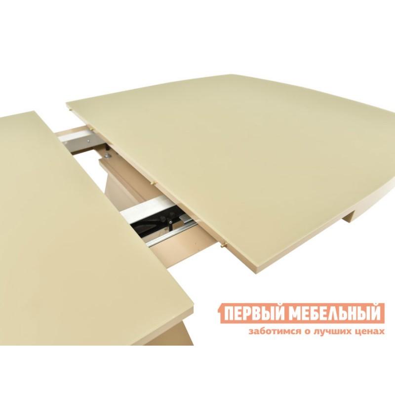 Кухонный стол  Фоджа Капучино / Стекло Opti матте, Малый (фото 5)