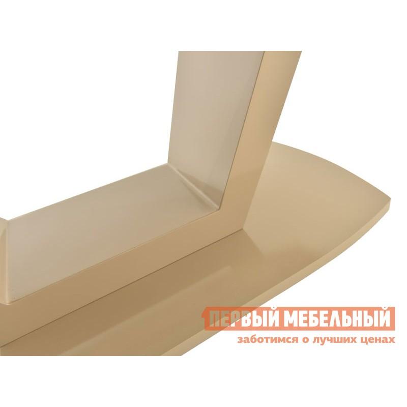 Кухонный стол  Фоджа Капучино / Стекло Opti матте, Малый (фото 6)