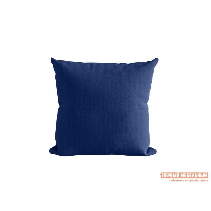 Декоративная подушка  Подушка ШН(391-17), Размер 45х45 синий Синий, рогожка
