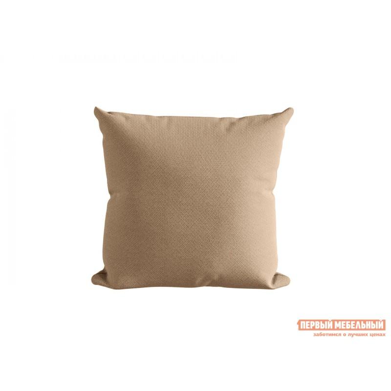 Декоративная подушка  Подушка ШН(391-3), Размер 45х45 Персик, рогожка