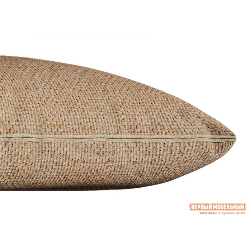Декоративная подушка  Подушка ШН(391-3), Размер 45х45 Персик, рогожка (фото 2)