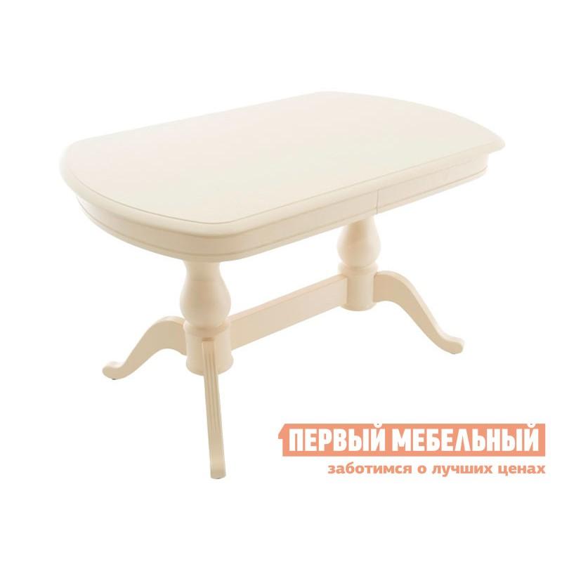 Кухонный стол  Фабрицио 2М Слоновая кость