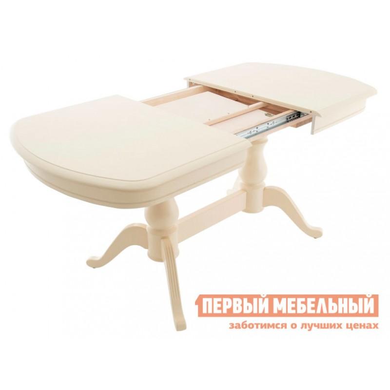 Кухонный стол  Фабрицио 2М Слоновая кость (фото 3)