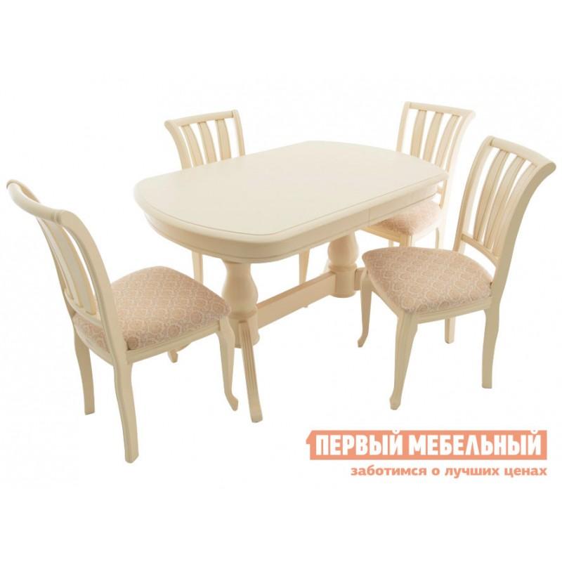 Кухонный стол  Фабрицио 2М Слоновая кость (фото 10)
