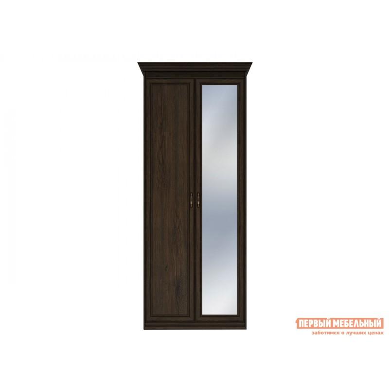 Распашной шкаф  Шкаф 2-х дверный Неаполь Дуб Април, С одним зеркалом (фото 2)