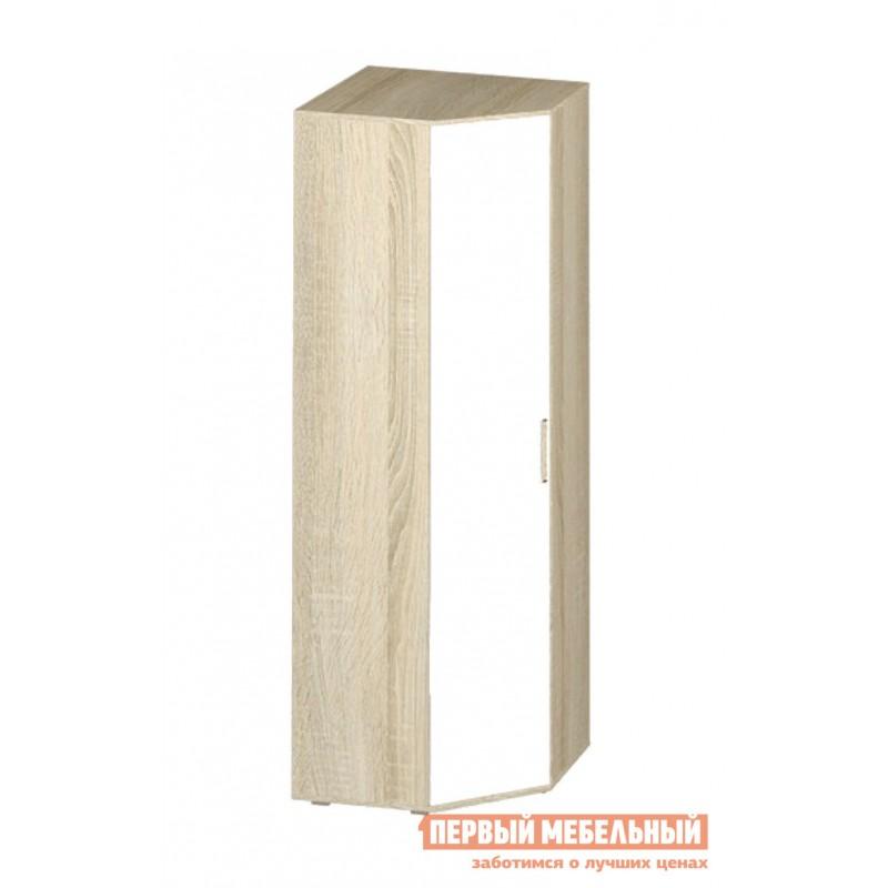 Детский шкаф  Шкаф угловой Сенди Дуб сонома / Белый