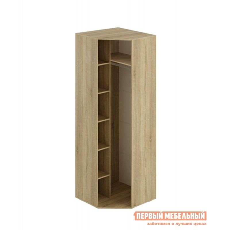 Детский шкаф  Шкаф угловой Сенди Дуб сонома / Белый (фото 2)