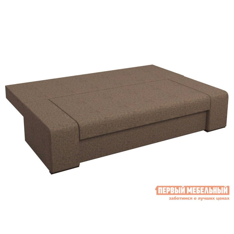 Прямой диван  Монако Кофейный RE 02, рогожка (фото 4)