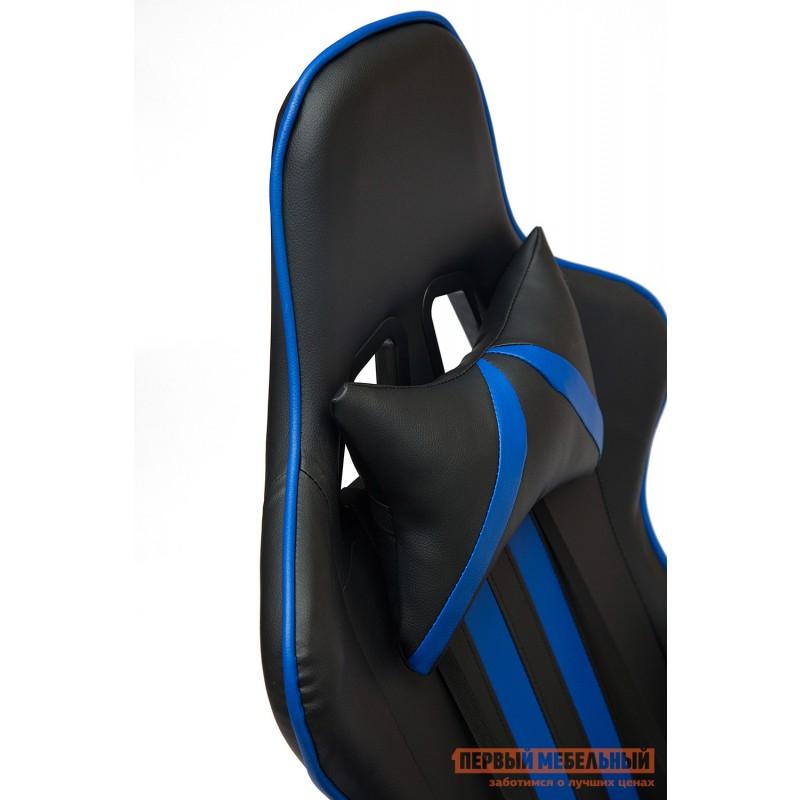 Игровое кресло  iCar Иск. кожа черная / синяя (фото 5)