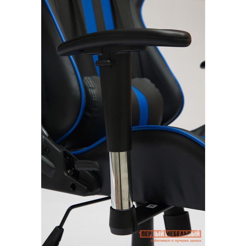 Игровое кресло  iCar Иск. кожа черная / синяя (фото 7)