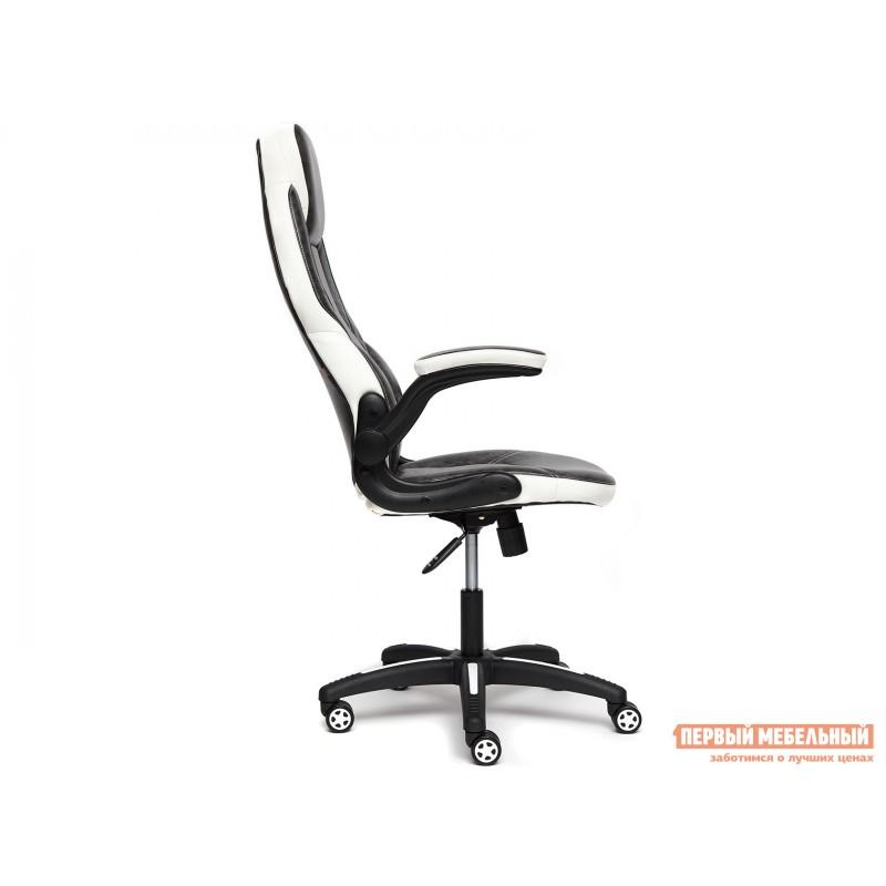 Игровое кресло  BAZUKA Иск. кожа, серый/белый, 2TONE/2TONE перф/36-01 (фото 3)