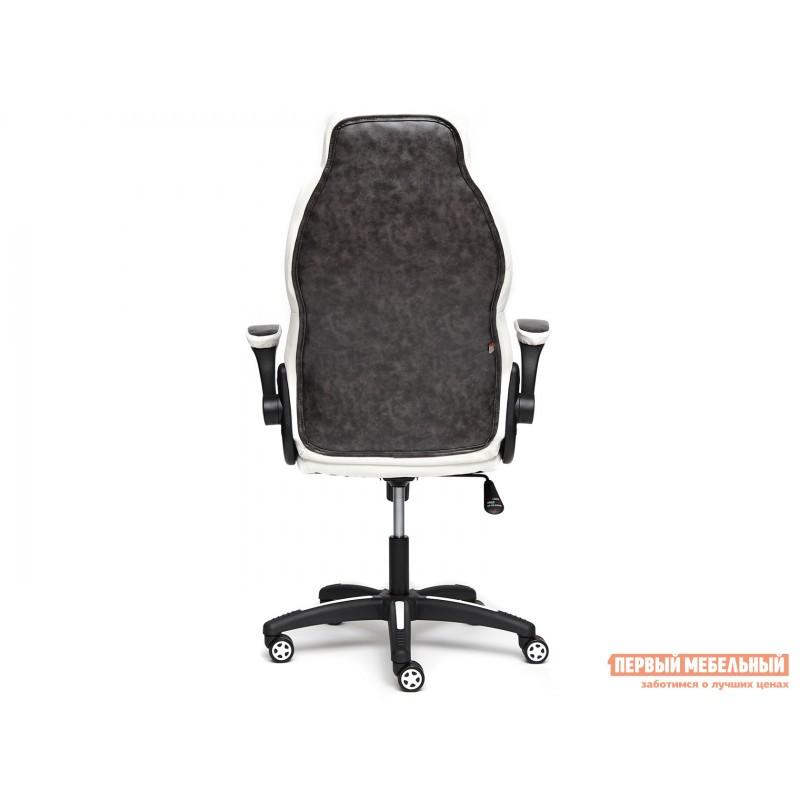 Игровое кресло  BAZUKA Иск. кожа, серый/белый, 2TONE/2TONE перф/36-01 (фото 4)